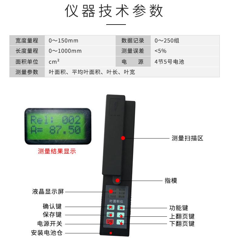 活体叶面积测量仪